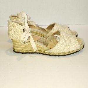 UGG Mar Espadrille Wedge Sandal
